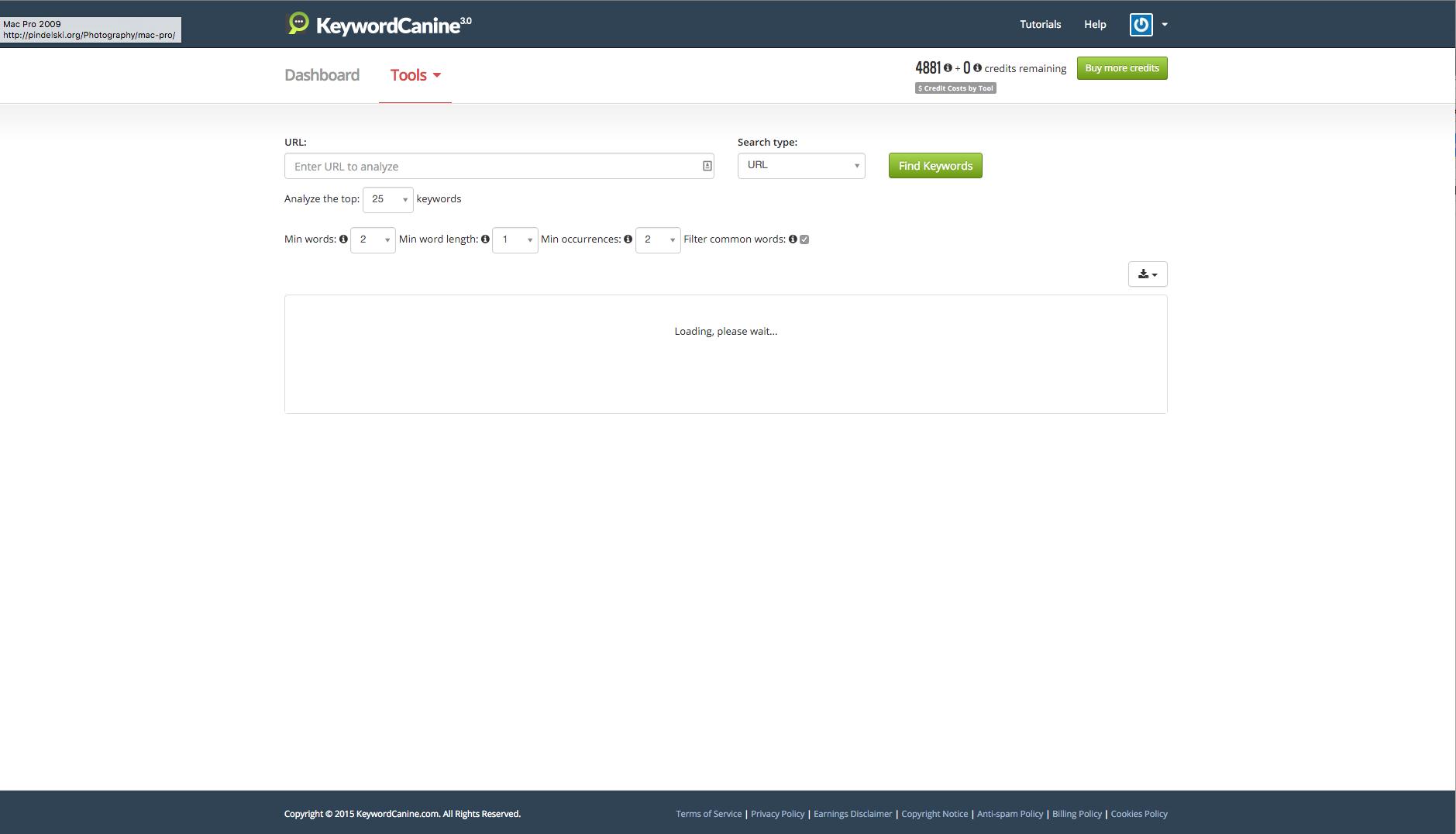 Keyword Optimizer
